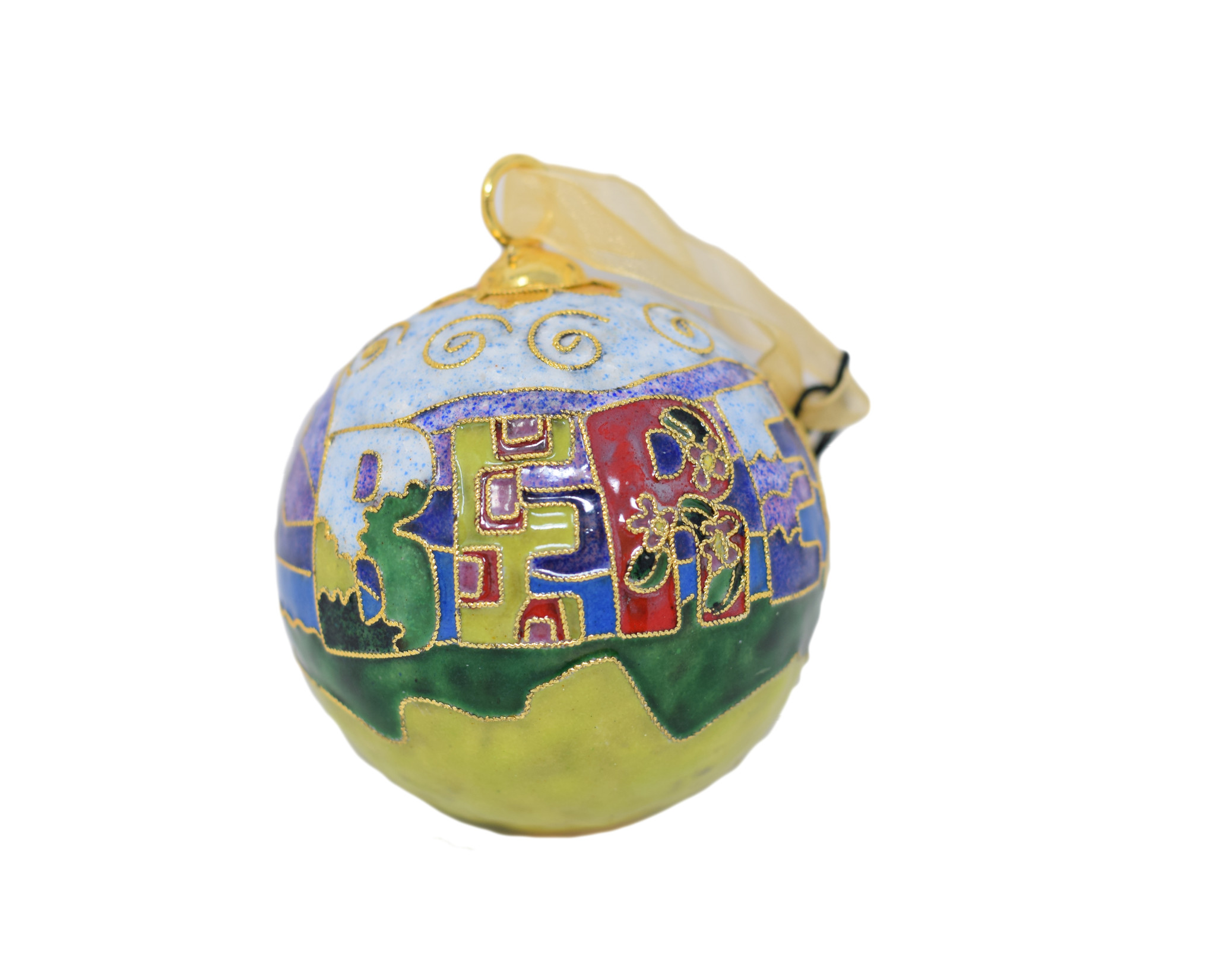 Berea Landscape Ball Ornament-1