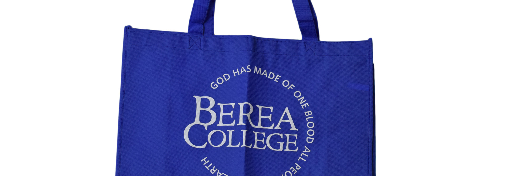 Royal Blue Tote Bag with Circle Logo