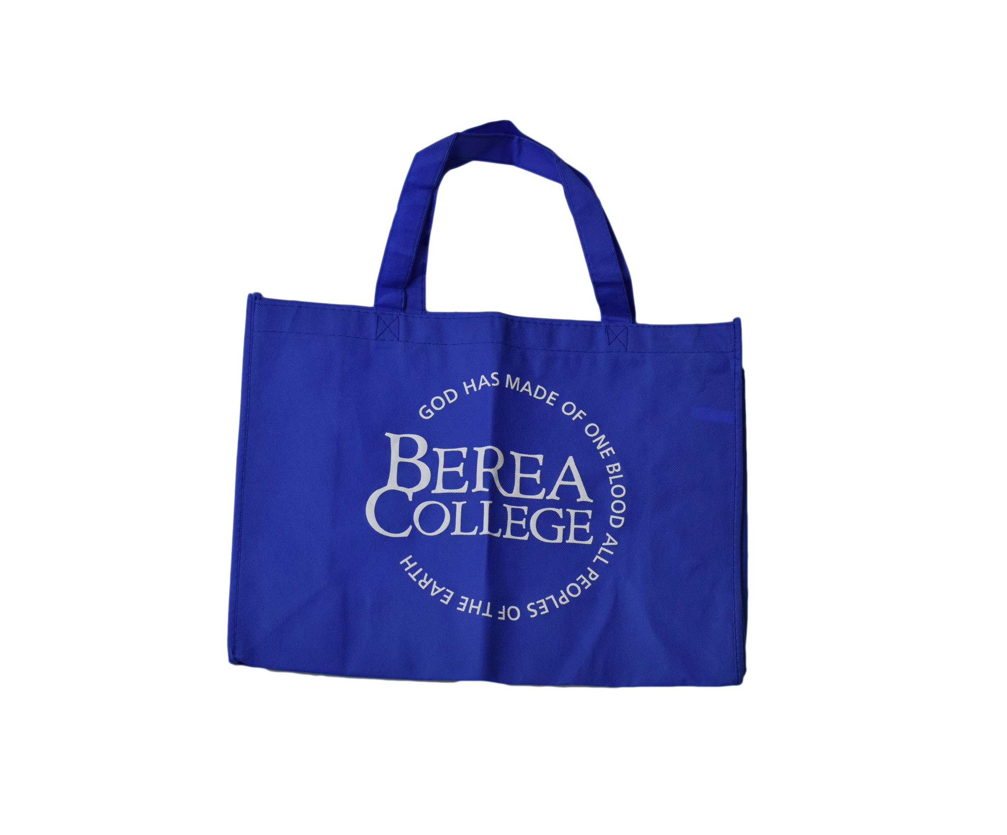 Royal Blue Tote Bag with Circle Logo-1