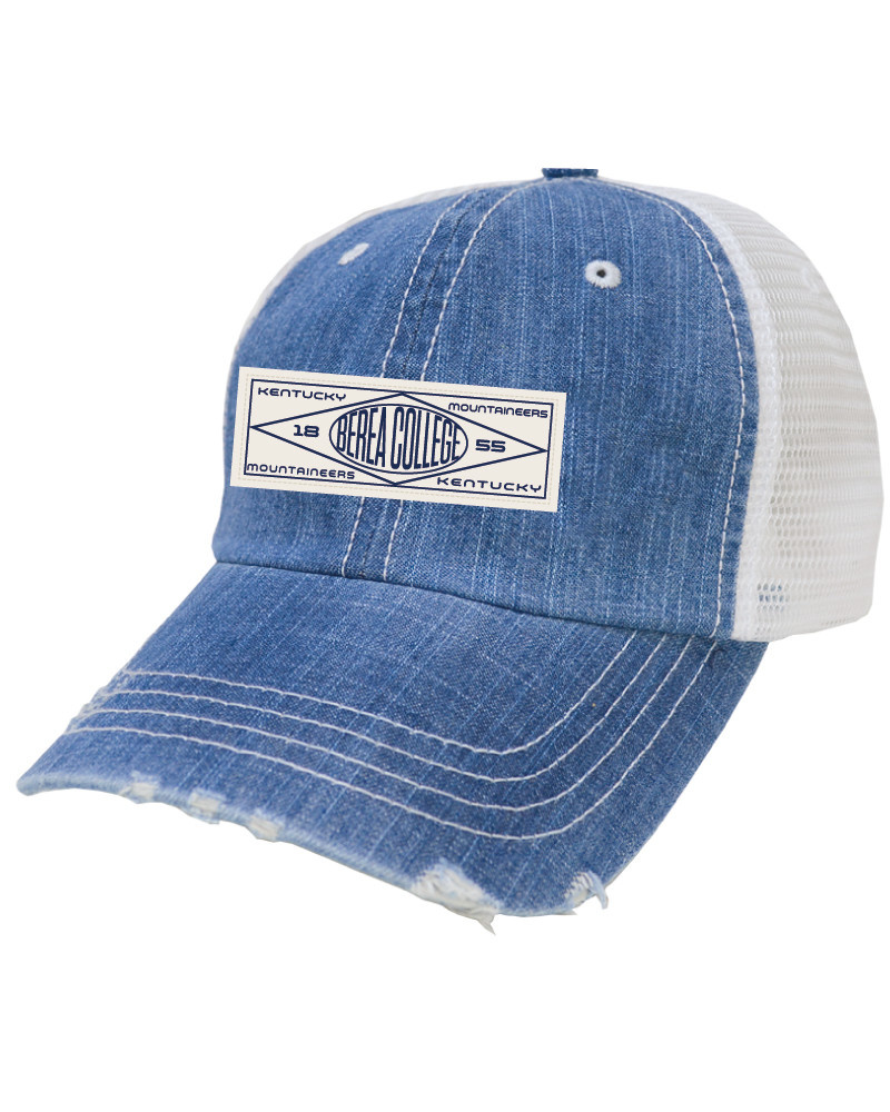 Frayed Berea College Ball Cap-1