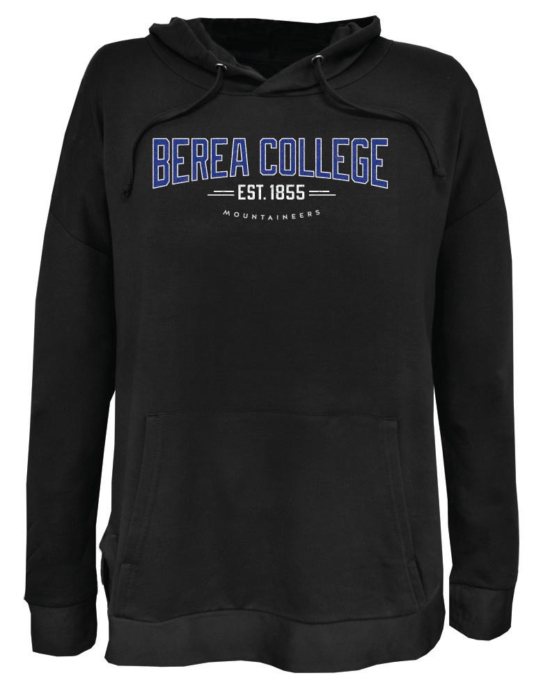 Berea College Black Mountaineers Hoodie With Established Year-1