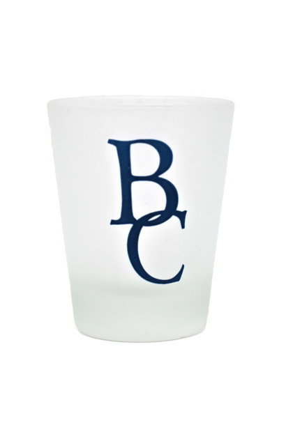 Frosted BC Shot Glass