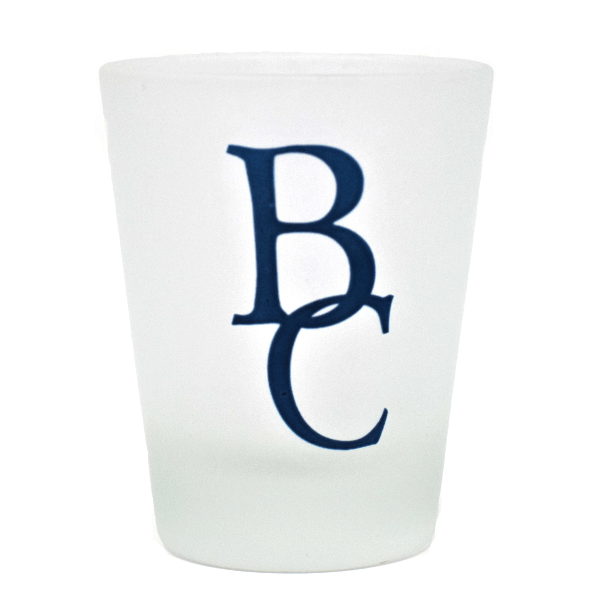 Frosted BC Shot Glass-1
