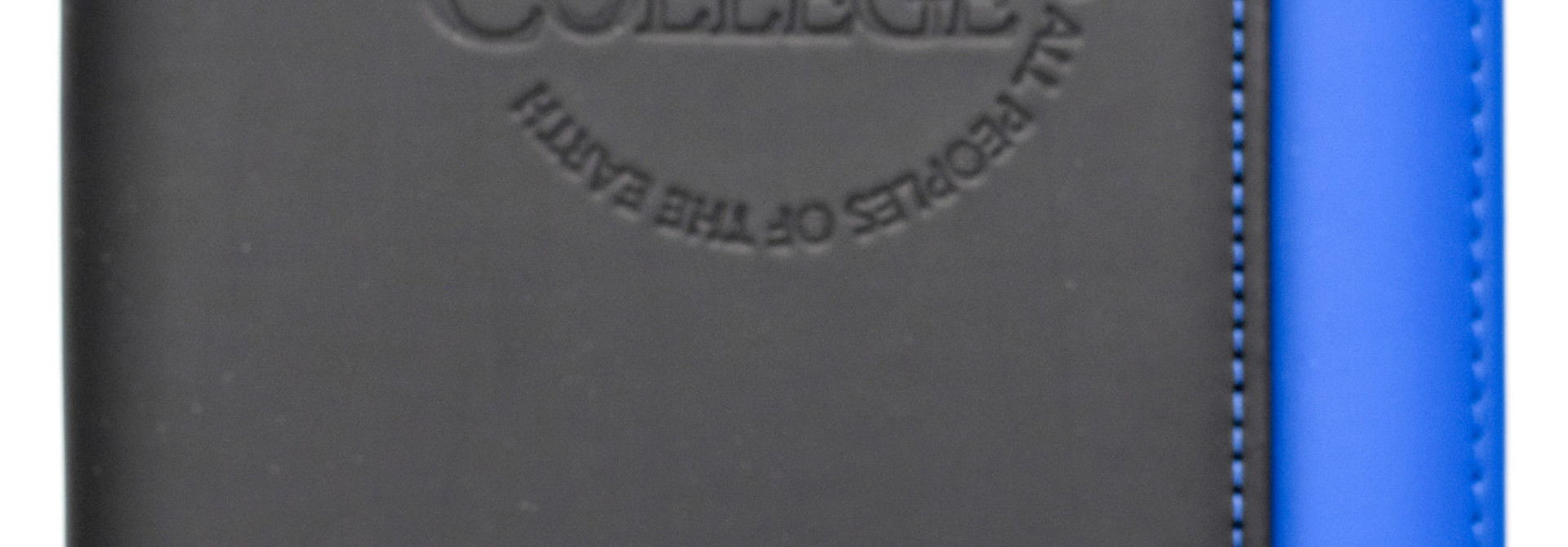 Large Blue and Black Berea College Portfolio