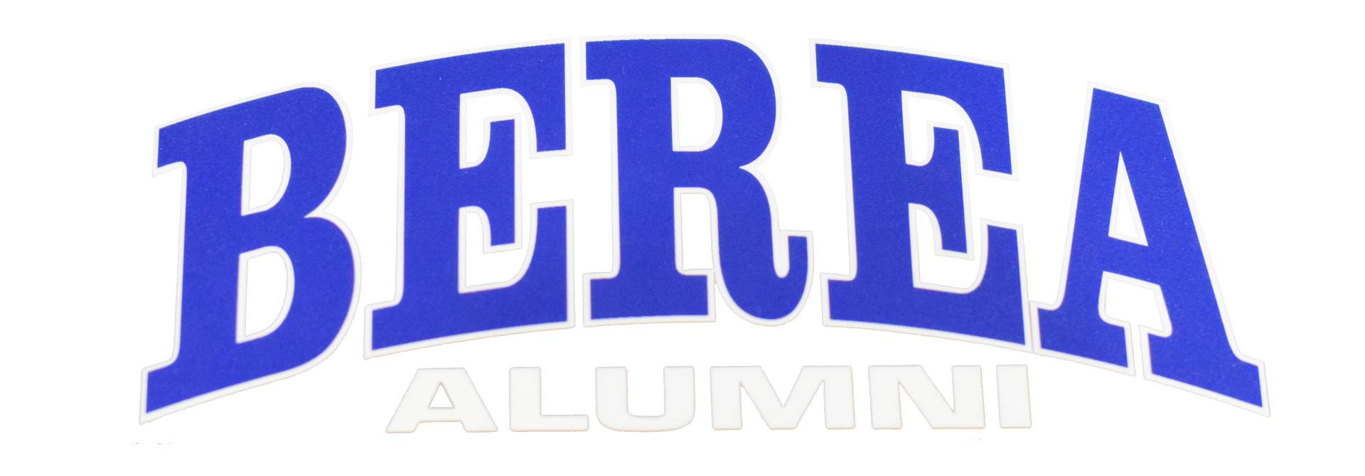 Berea Alumni Decal