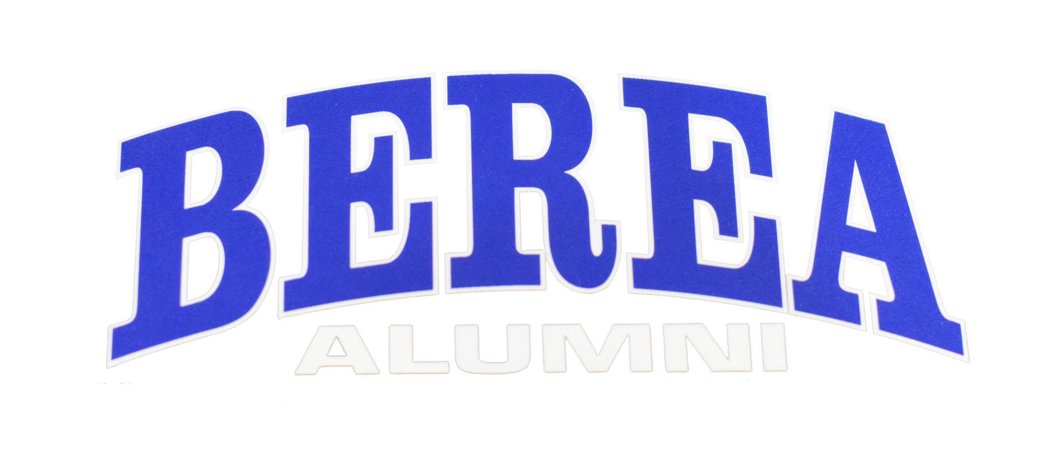 Berea Alumni Decal-1