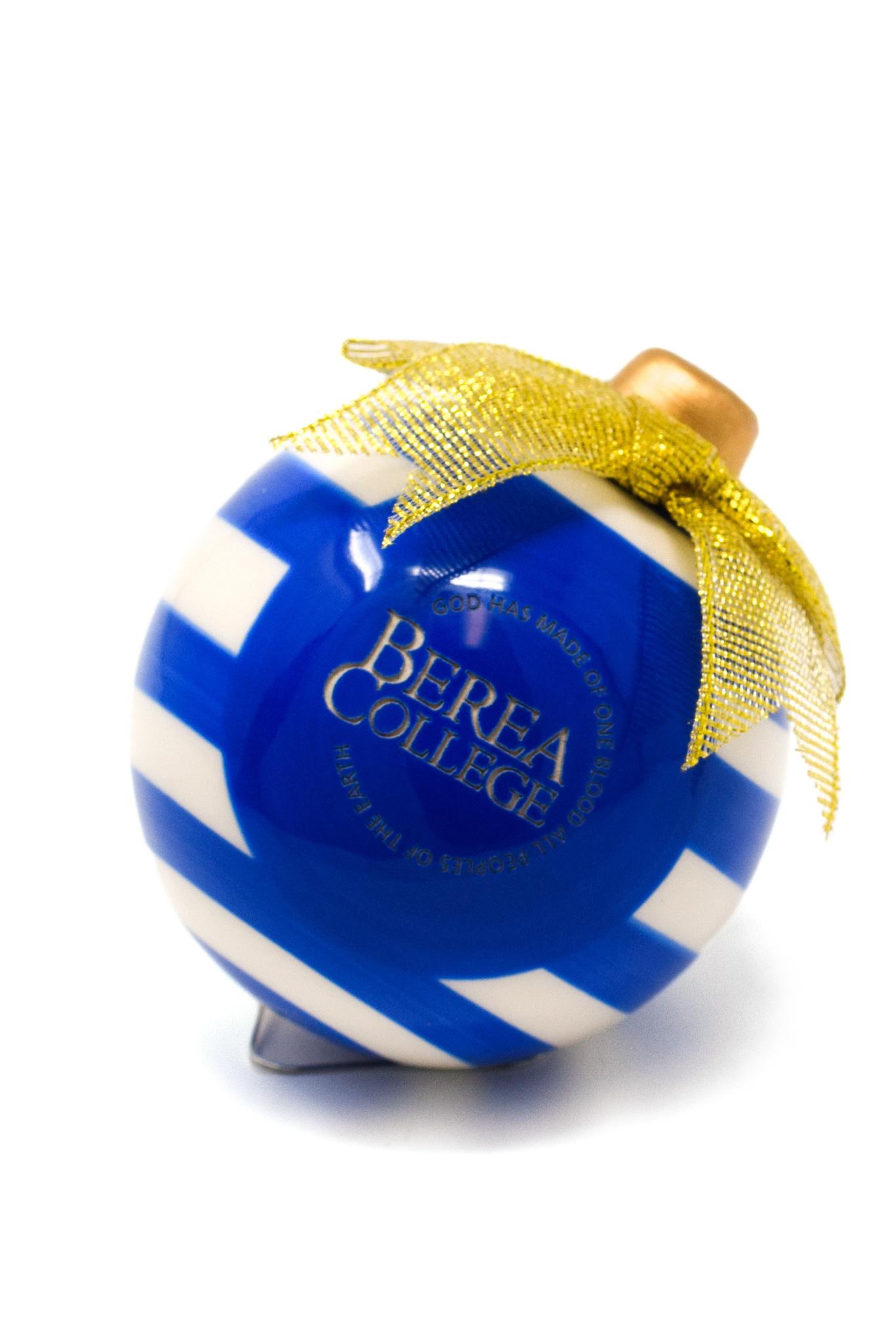 Ceramic Circle Logo Christmas Ornament-3