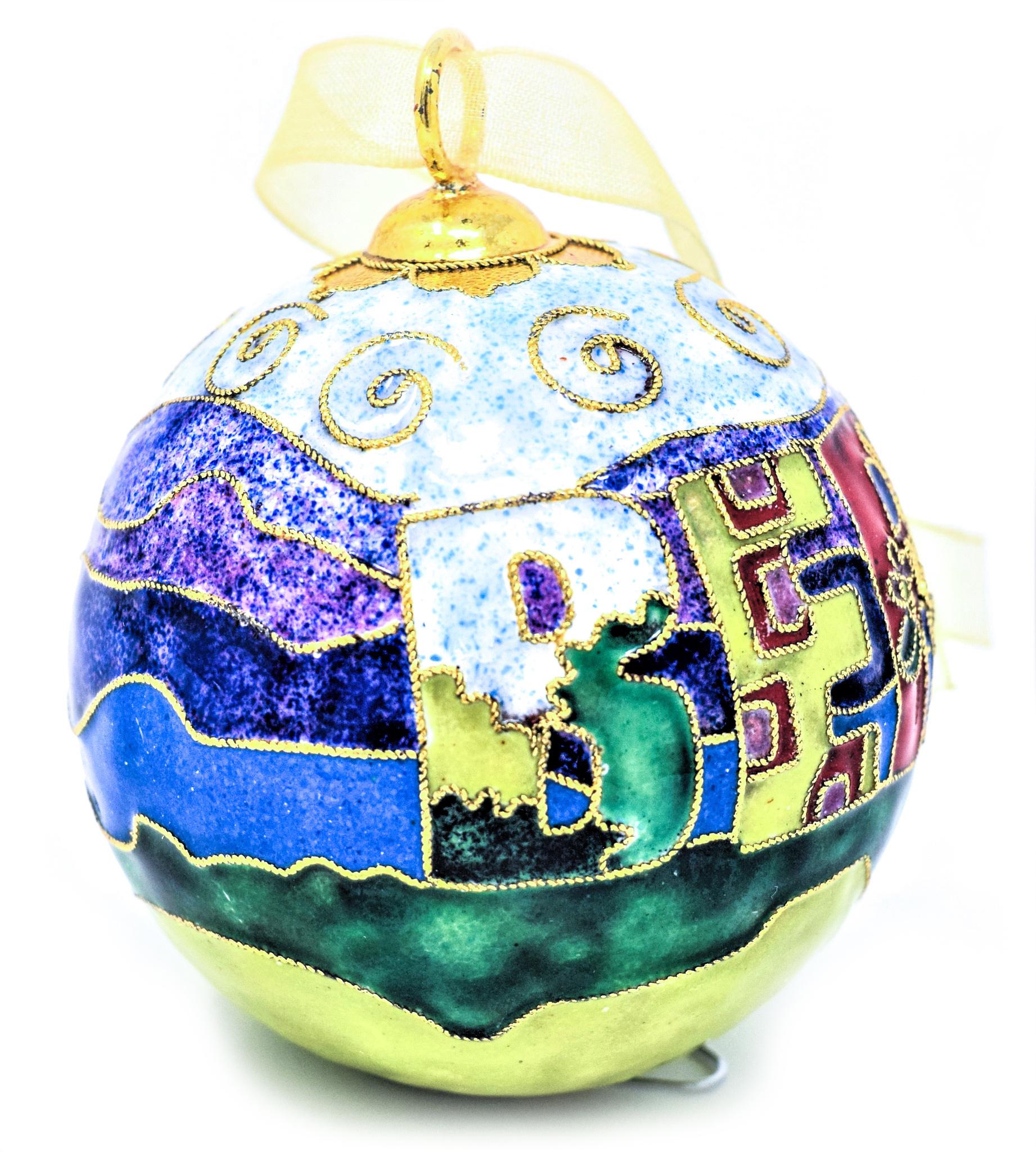 Berea Landscape Ball Ornament-3