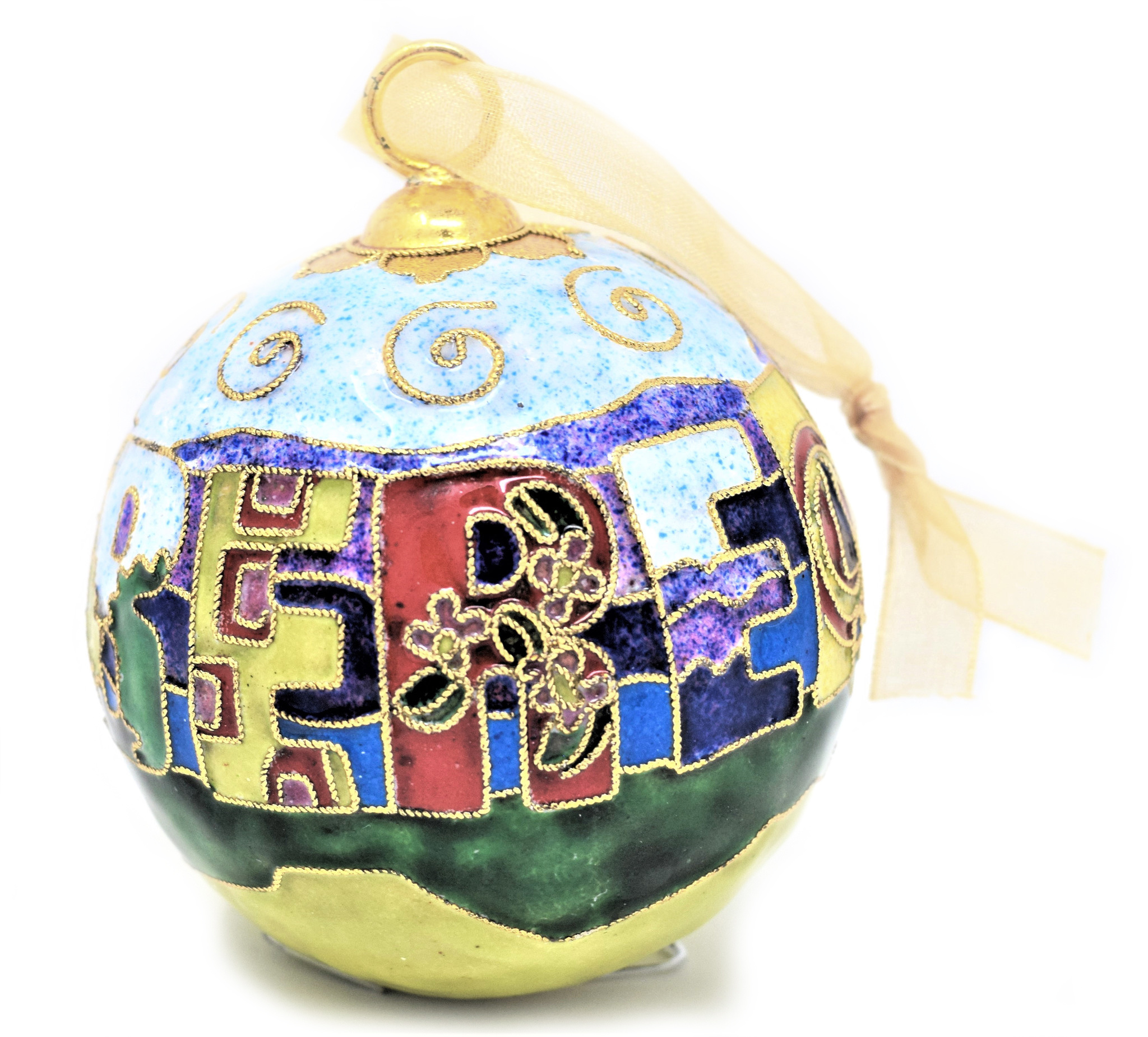 Berea Landscape Ball Ornament-4