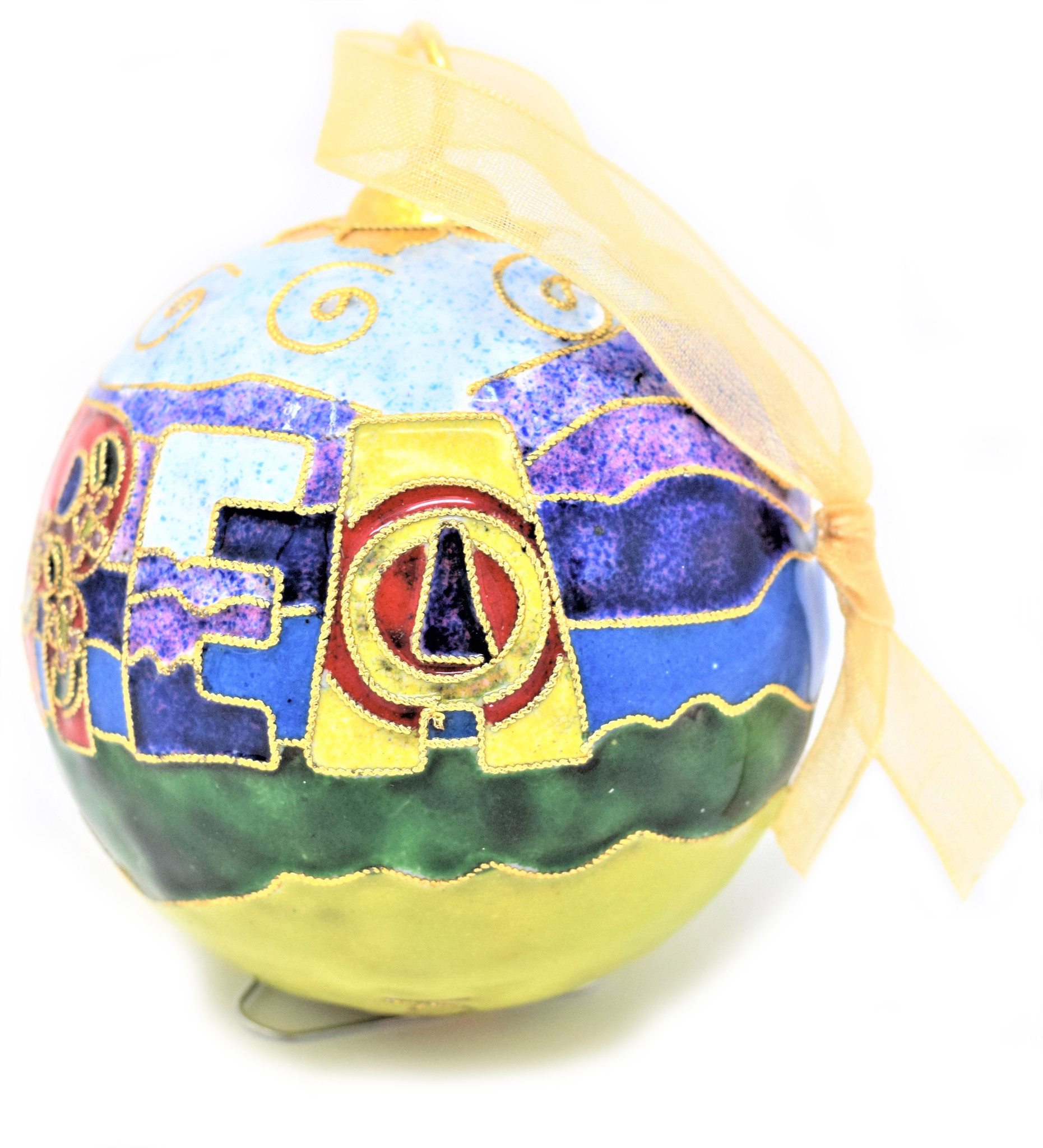 Berea Landscape Ball Ornament-5