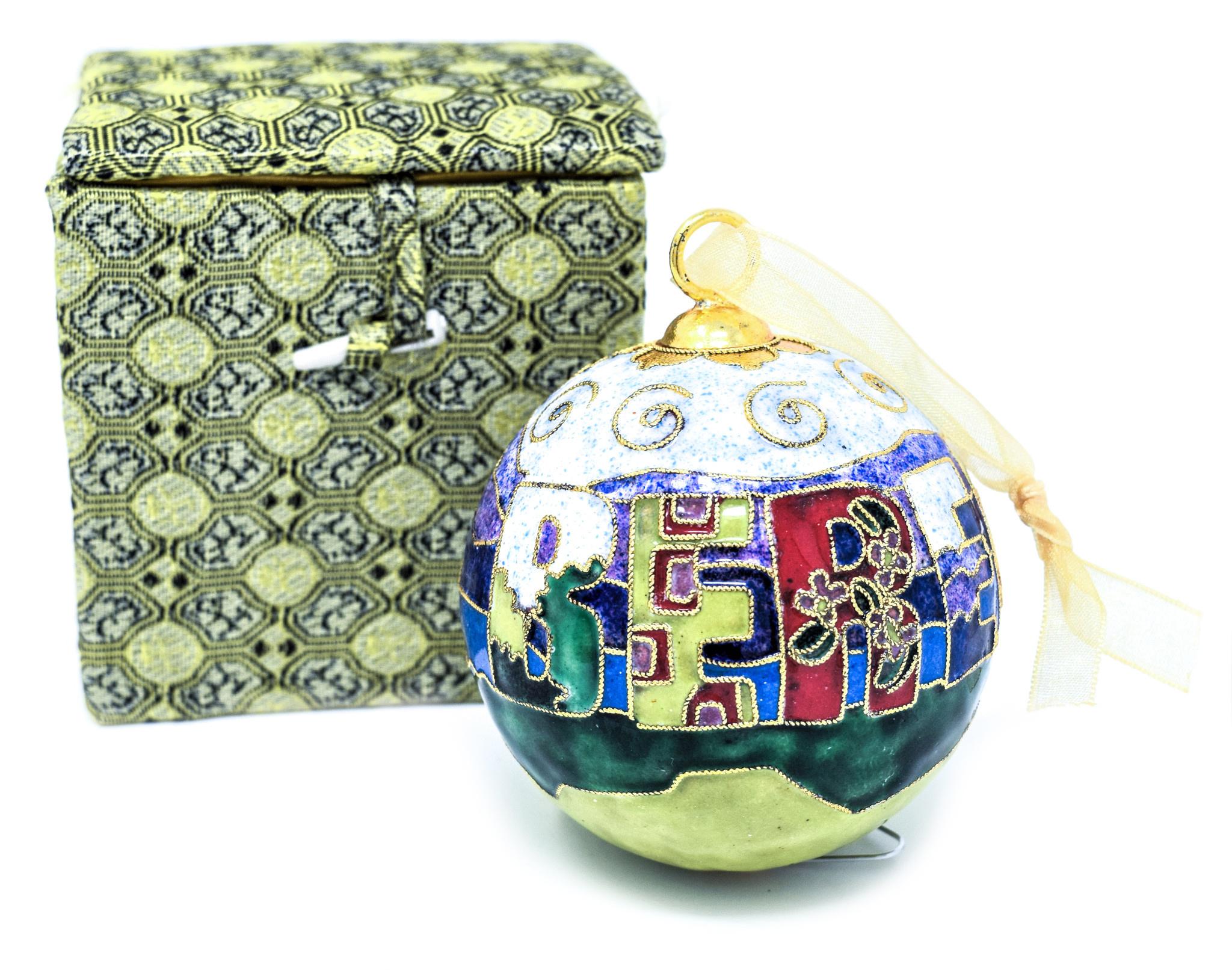 Berea Landscape Ball Ornament-6