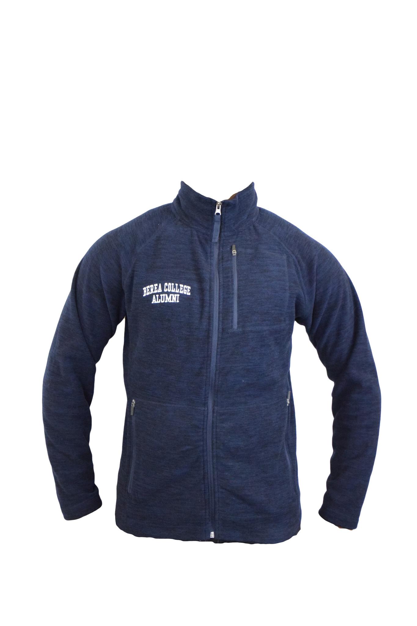 Heathered Navy Alumni Guide Jacket-2