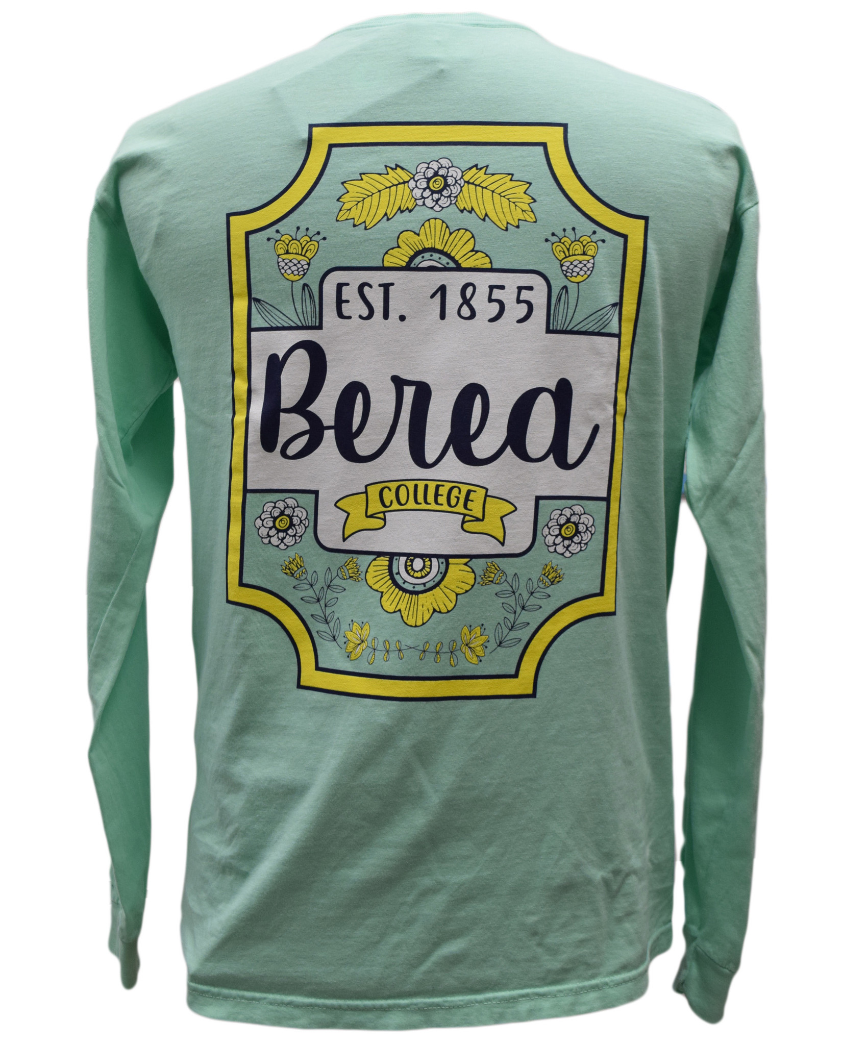 Berea College  Square and flowers T shirt-3