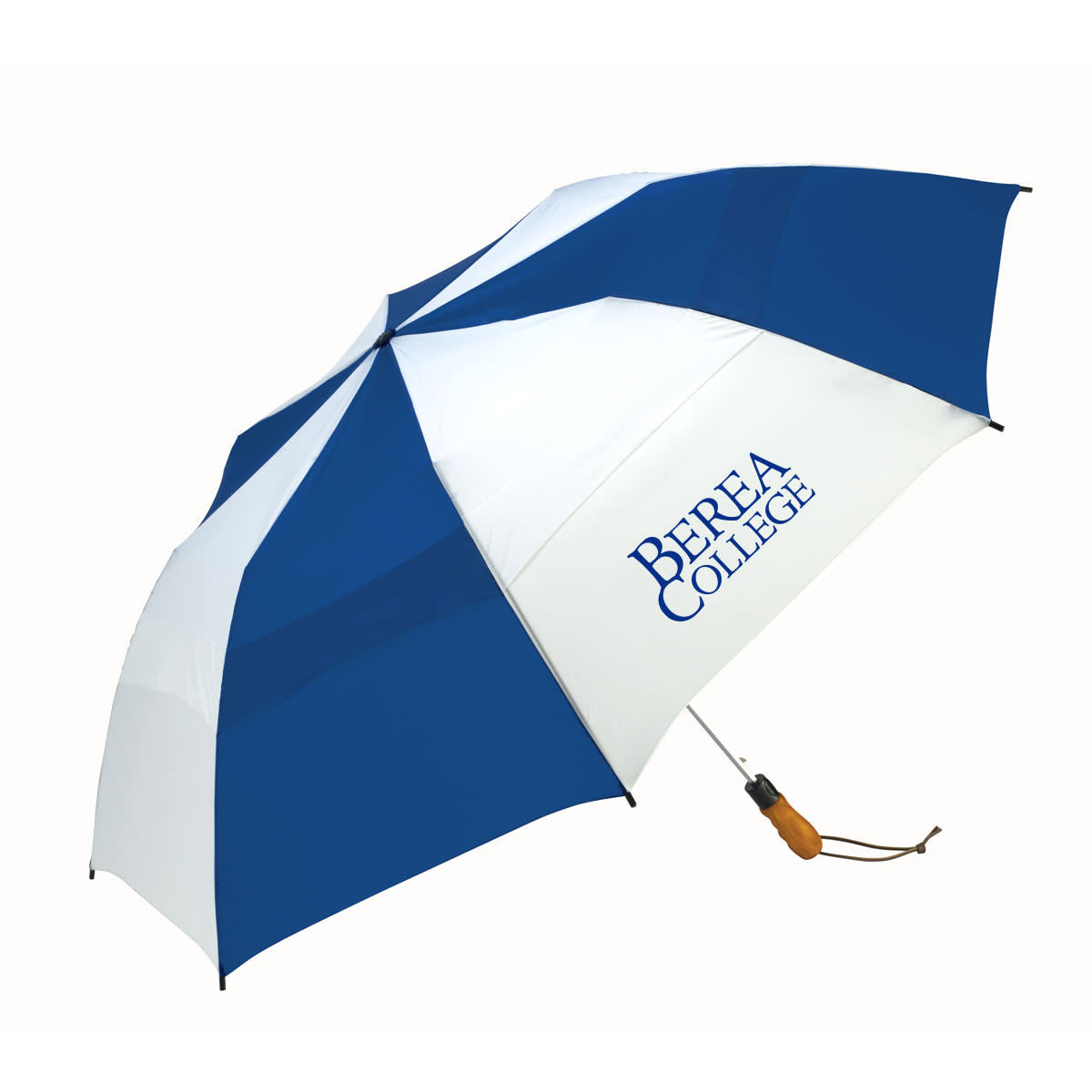 Royal/White  Berea College  Windjammer Umbrella-1