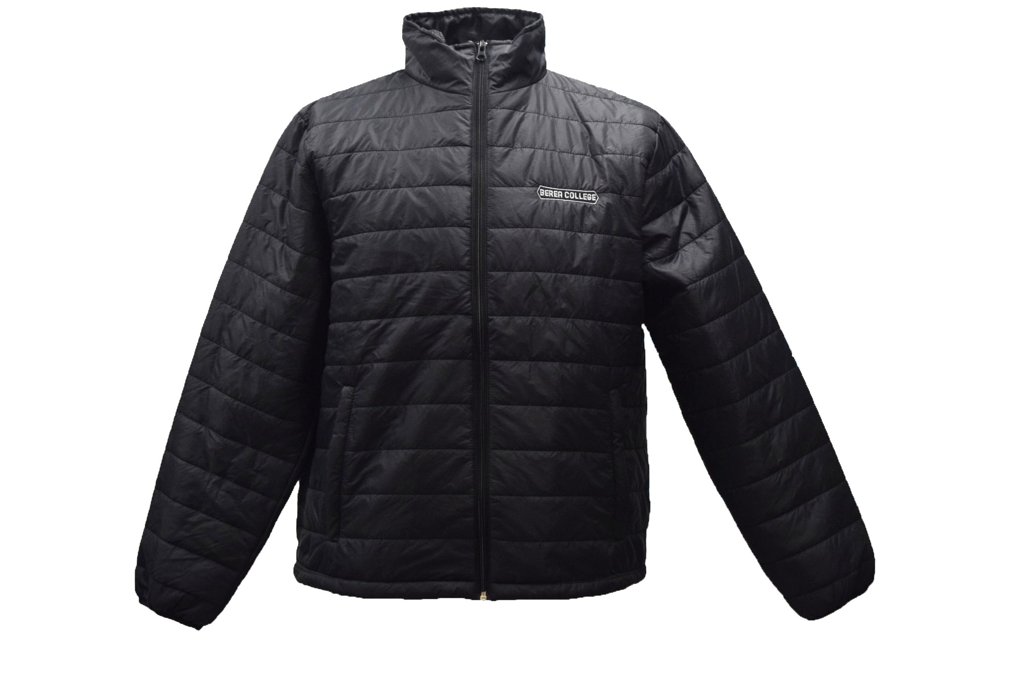 Black Quilted Berea Jacket-1