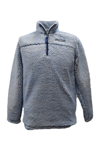 Blue Sherpa Pullover