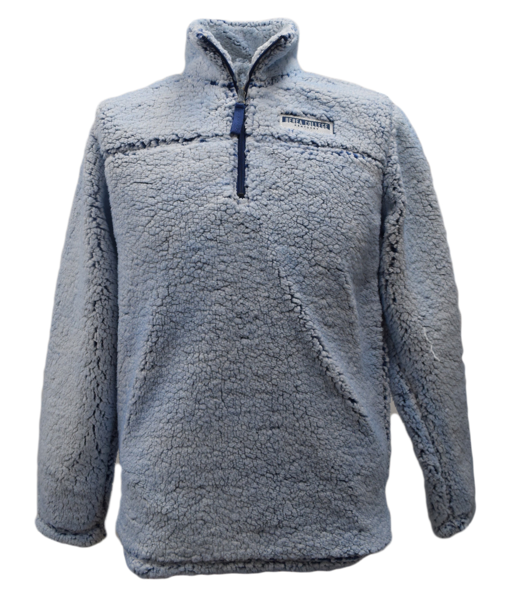 Blue Sherpa Pullover-1