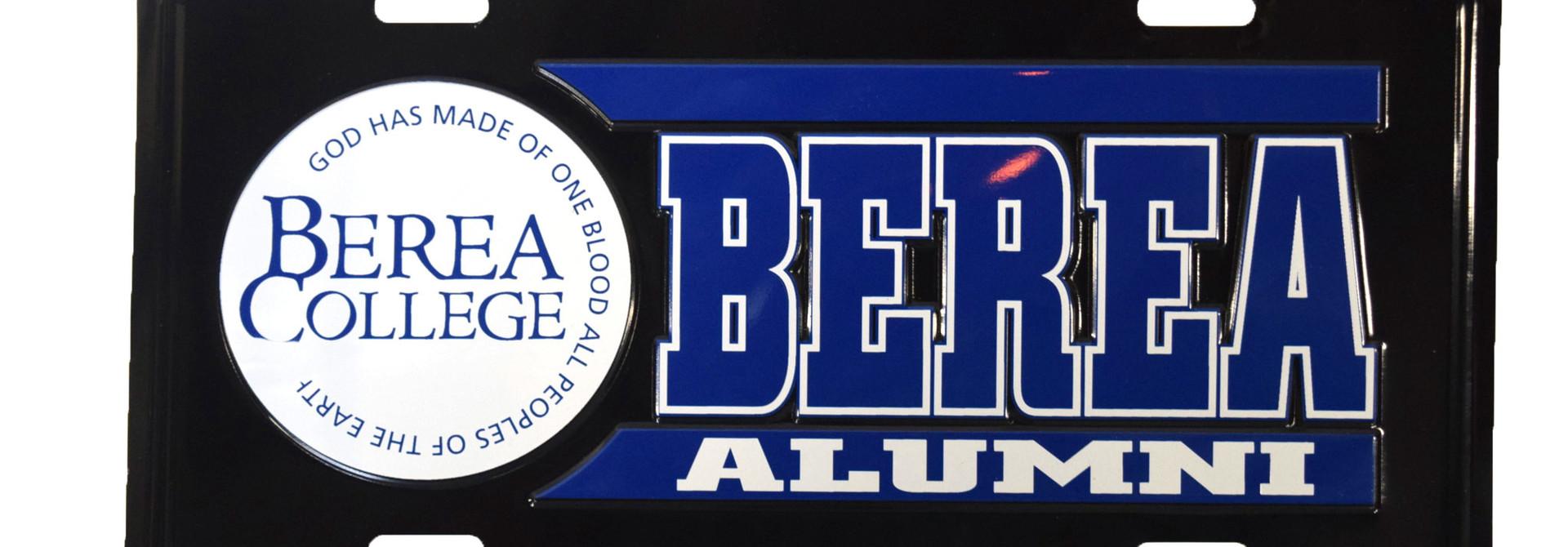 Alumni License Plate