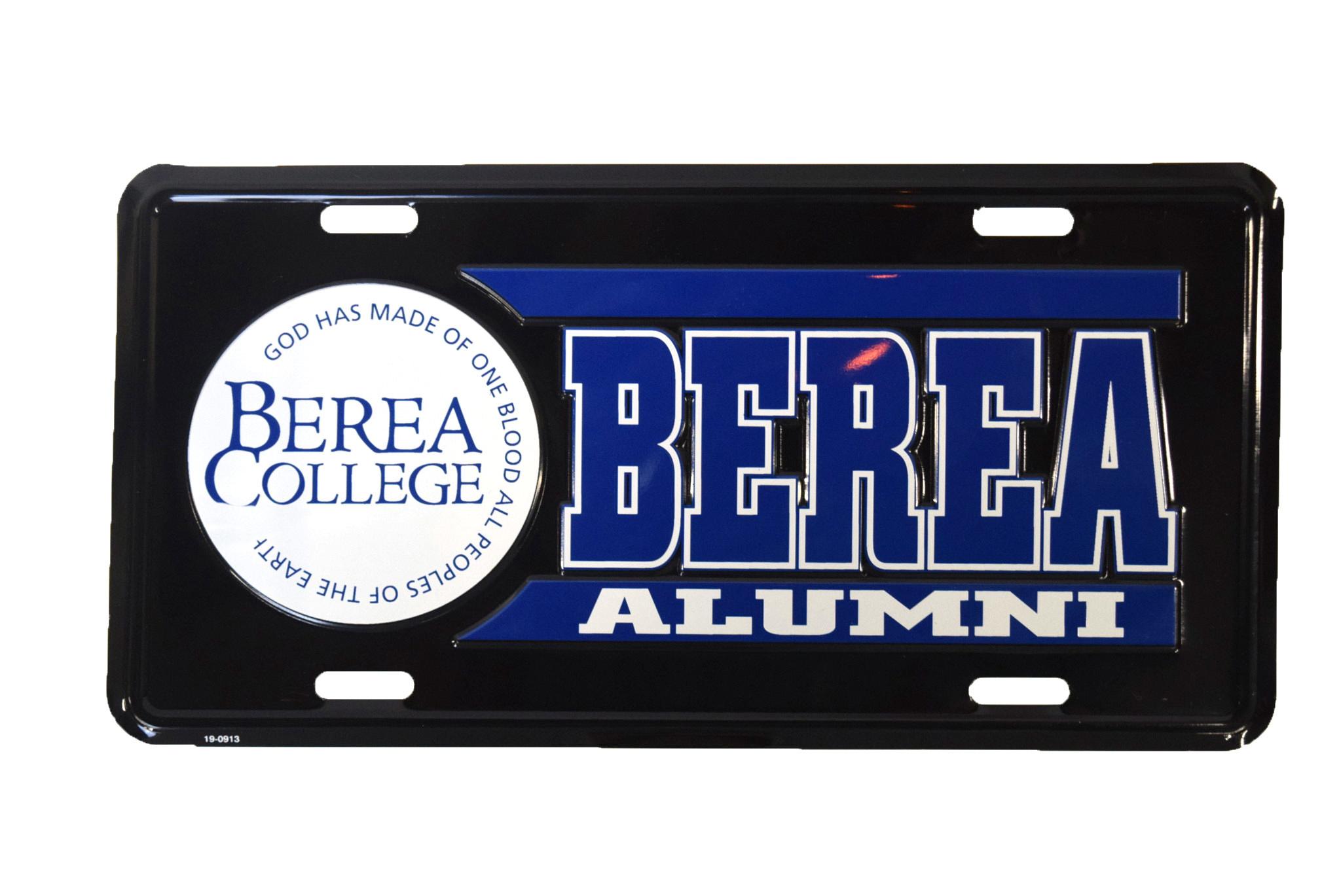Alumni License Plate-1