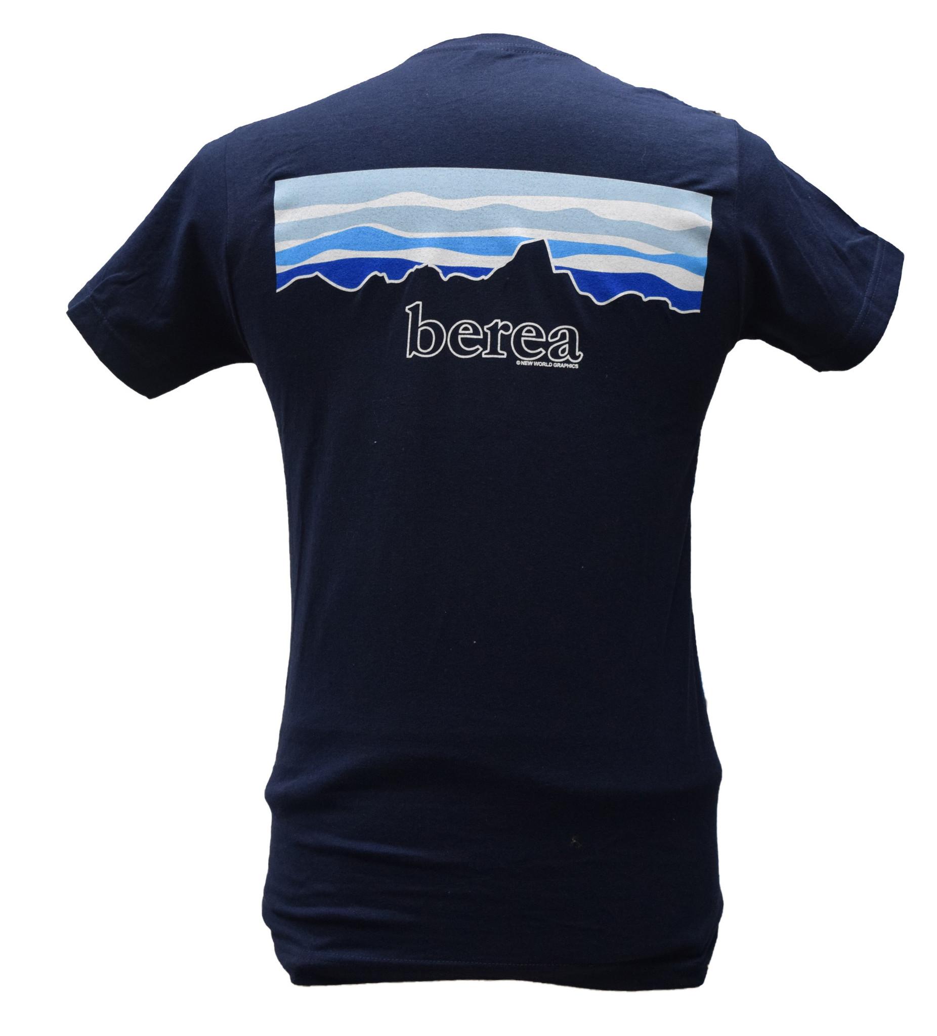 Navy Berea Sky T-Shirt-1