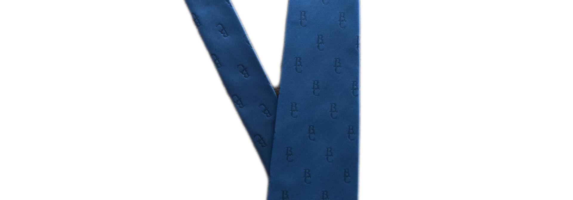 Blue BC Tie