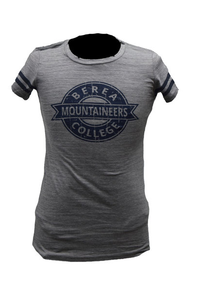 Gray Berea College Mountaineers T-Shirt
