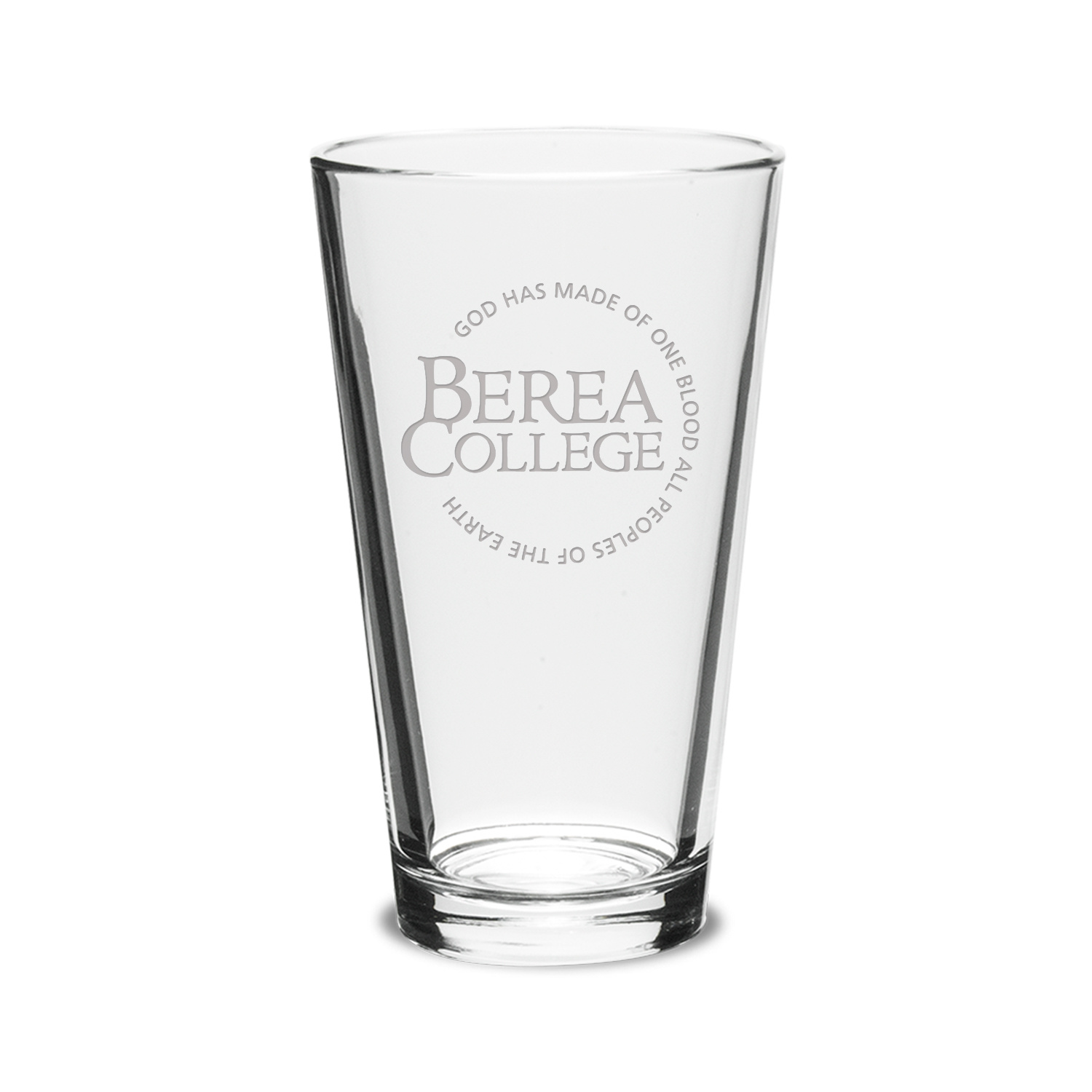 Etched Circle Logo Tall Glass-1
