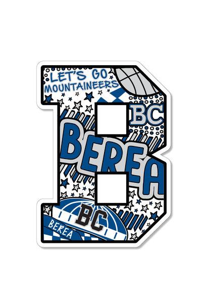 Berea Doodle B Dizzler Sticker