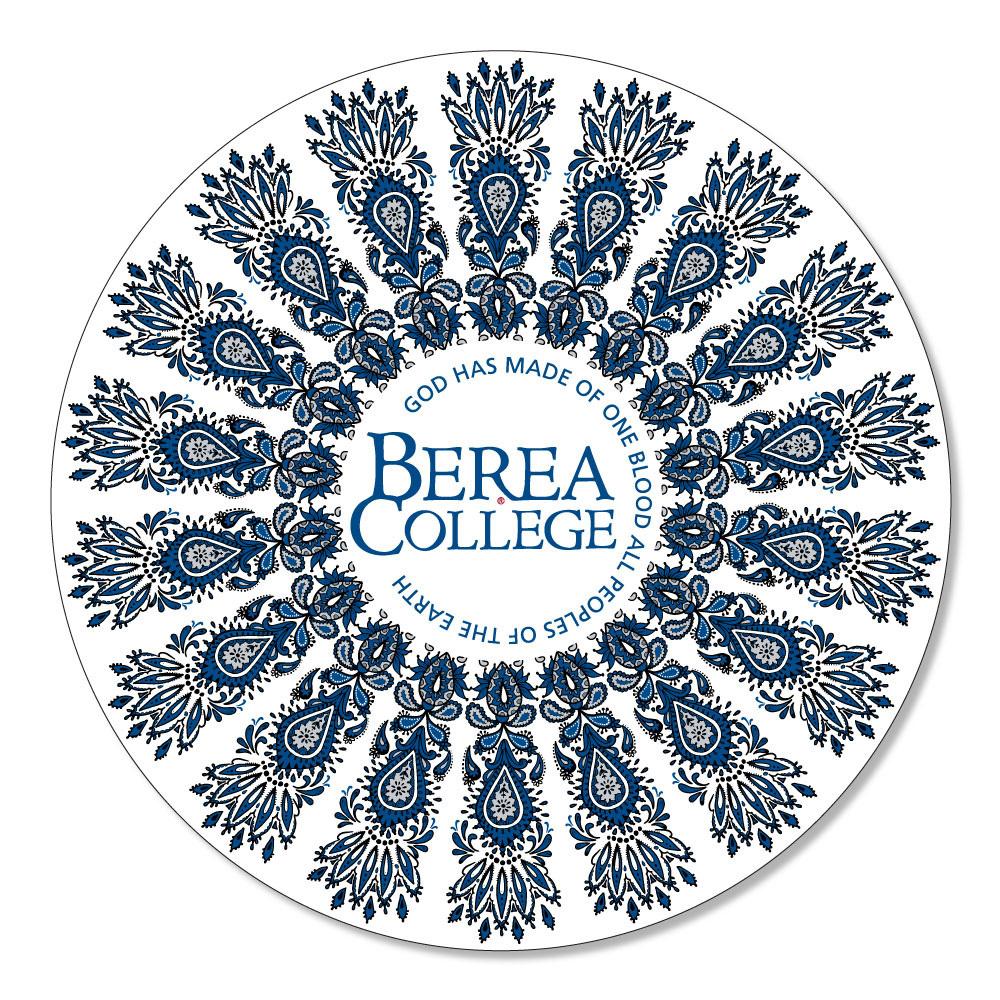 Berea Mandala Circle Logo Dizzler Sticker-1