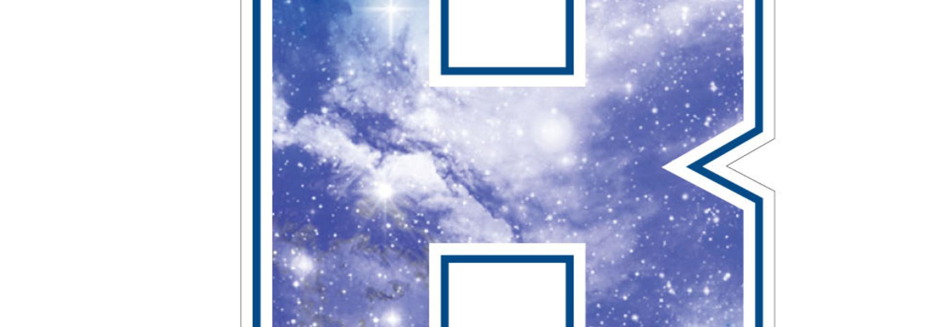 3 inch Galaxy Berea B Dizzler Sticker