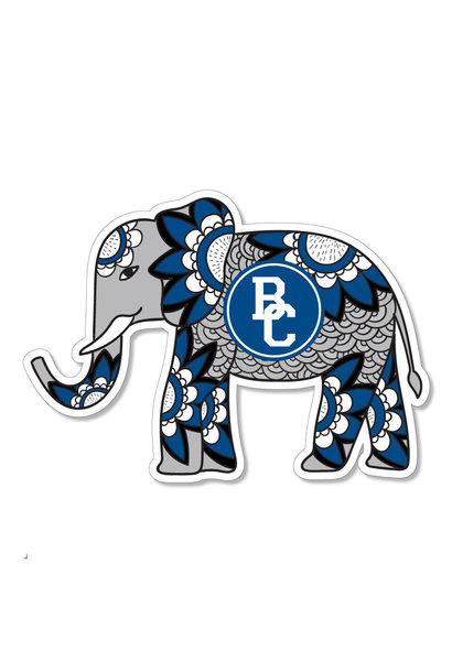 Berea Boho Elephant Dizzler Sticker