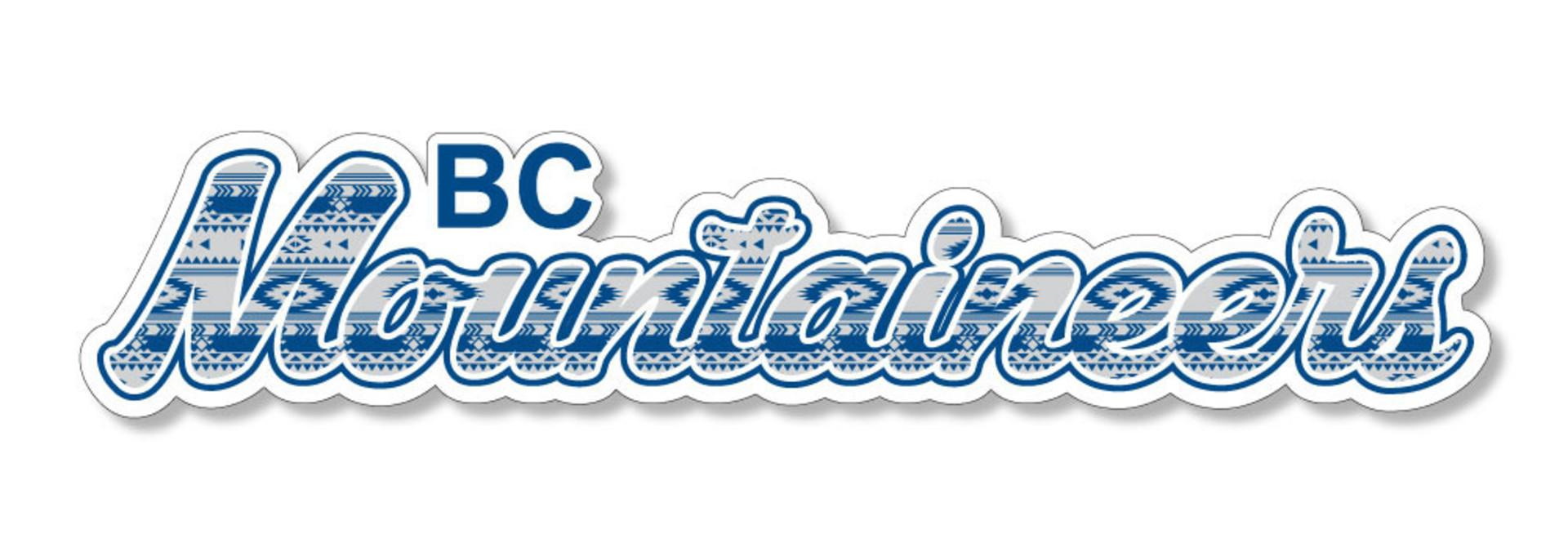 BC Mountaineers Dizzler Sticker