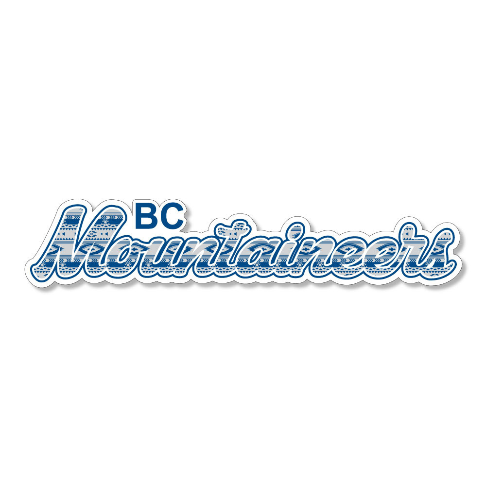 BC Mountaineers Dizzler Sticker-1