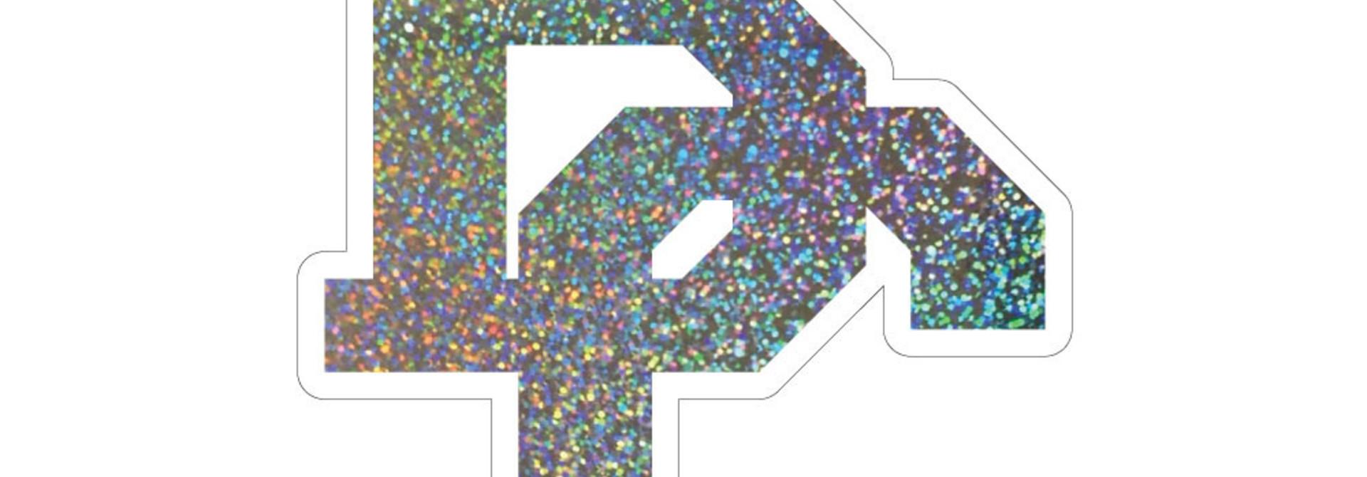 Confetti Holographic BC Dizzler Sticker