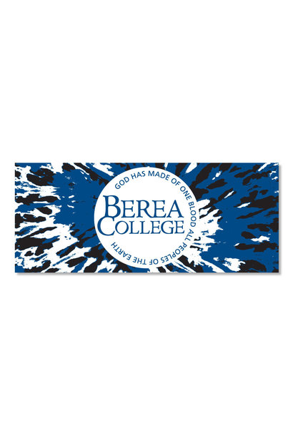 Tie Dye Berea College Dizzler Sticker