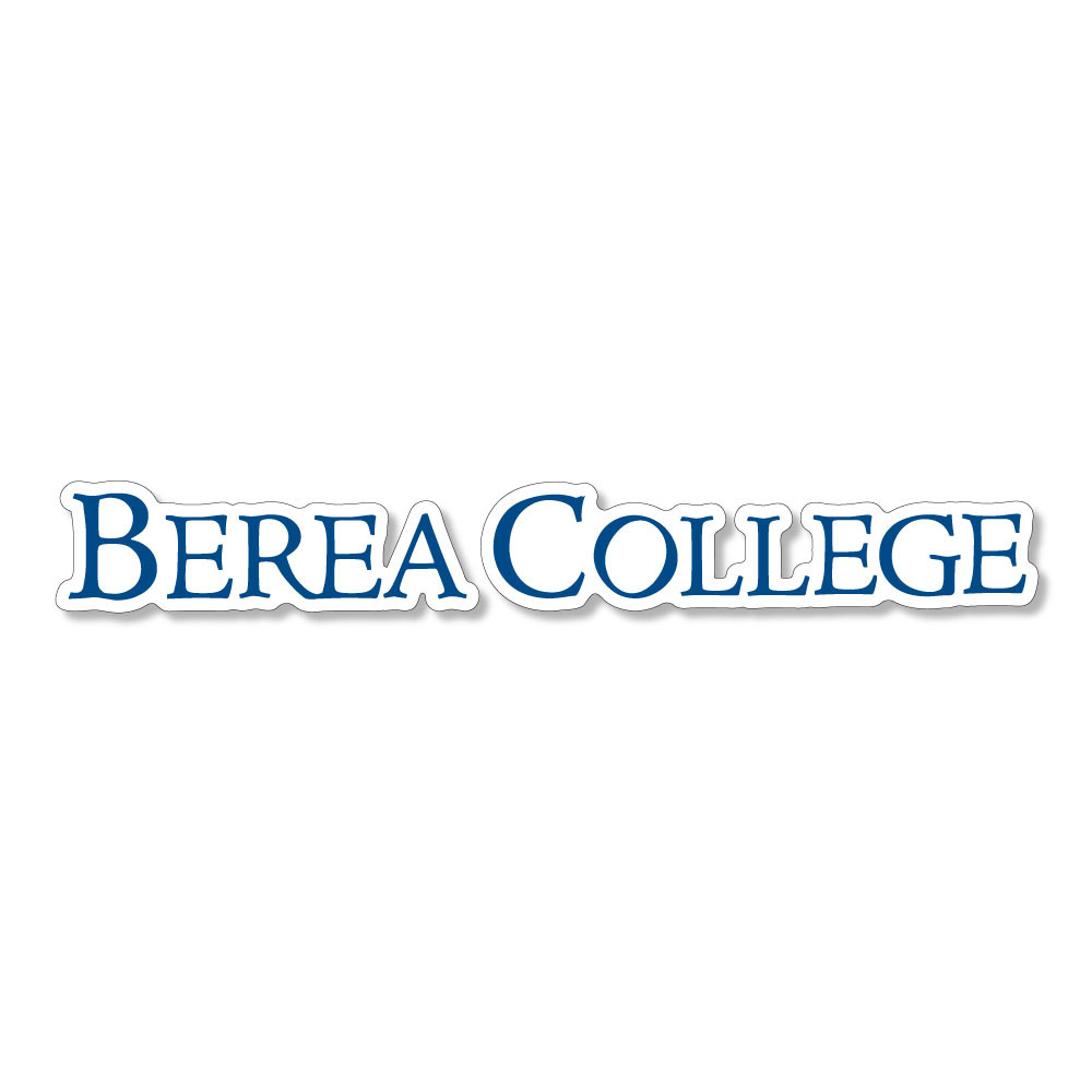 Berea College Logo Dizzler Sticker-1