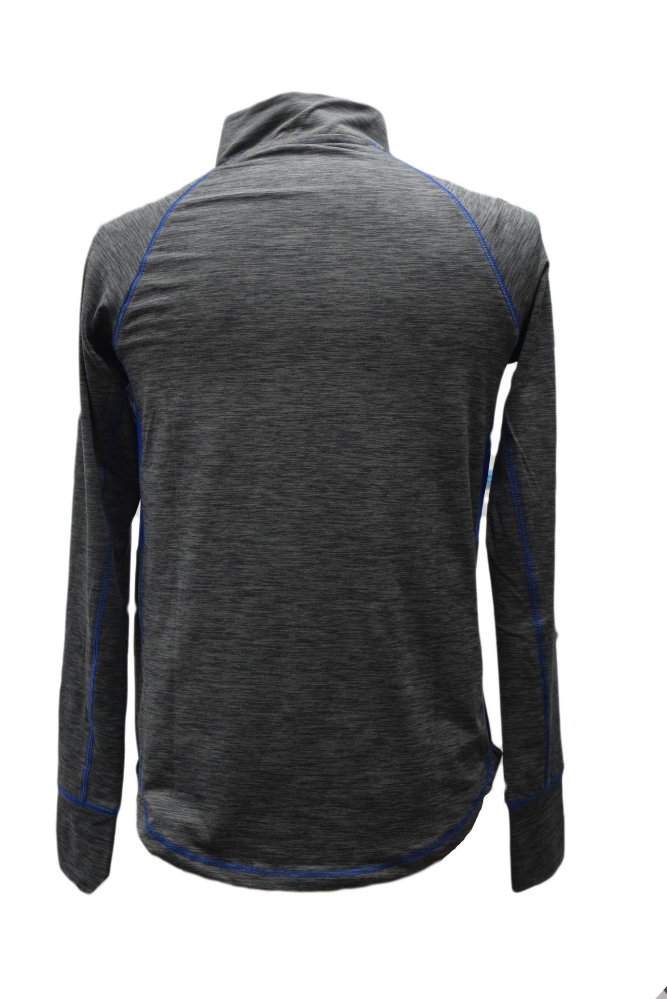 Women's Gray 1/4 Zip Pullover-2