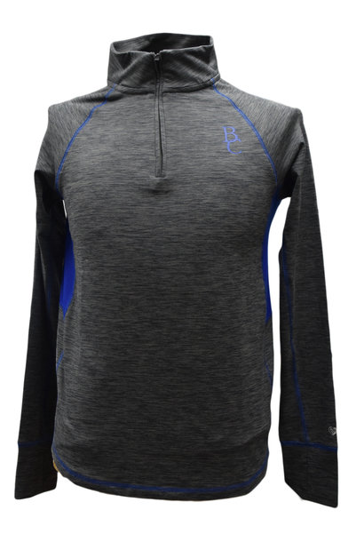 Women's Gray 1/4 Zip Pullover