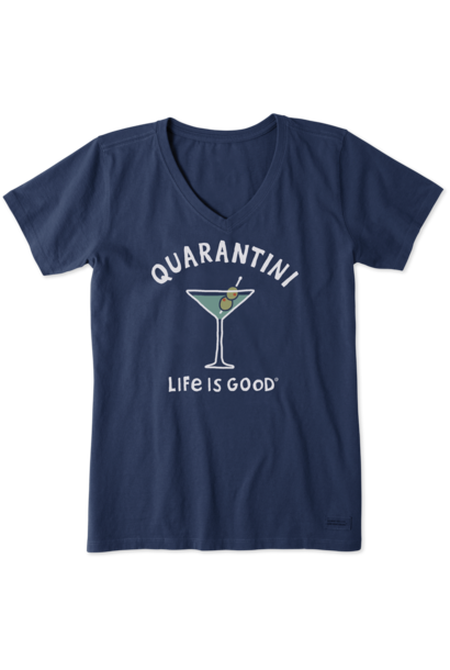 Quarantini T-Shirt  Life Is Good
