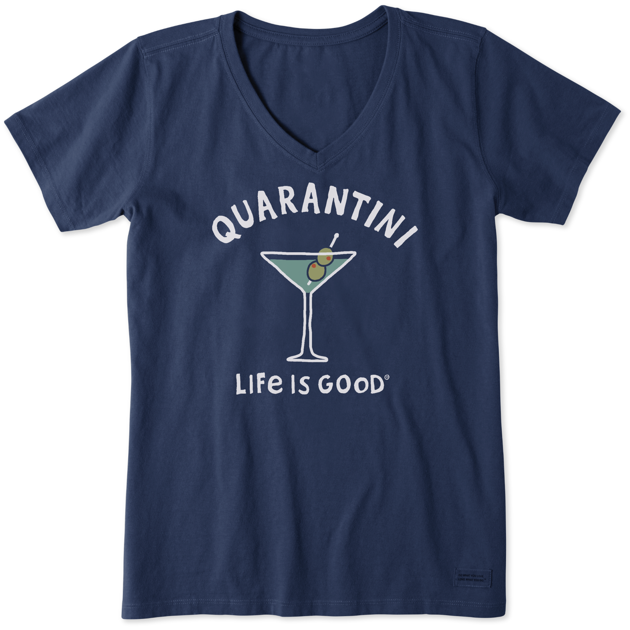 Quarantini T-Shirt  Life Is Good-1
