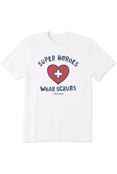 Super Hero Scrubs T-Shirt