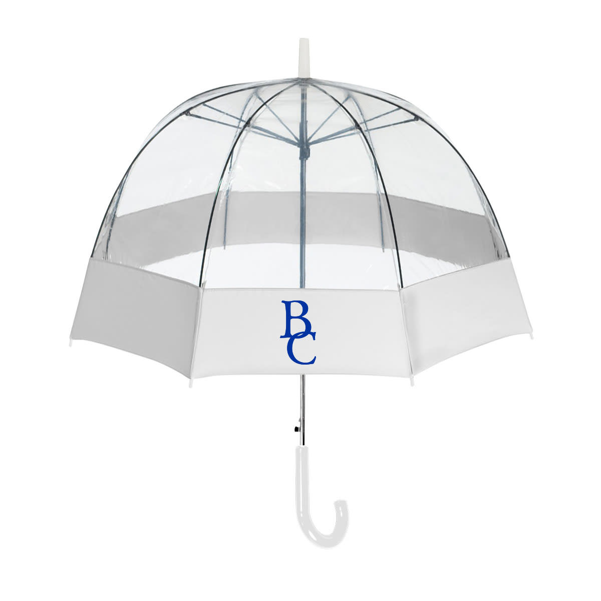 Auto Open BC Fabric Bubble Border Umbrella-1