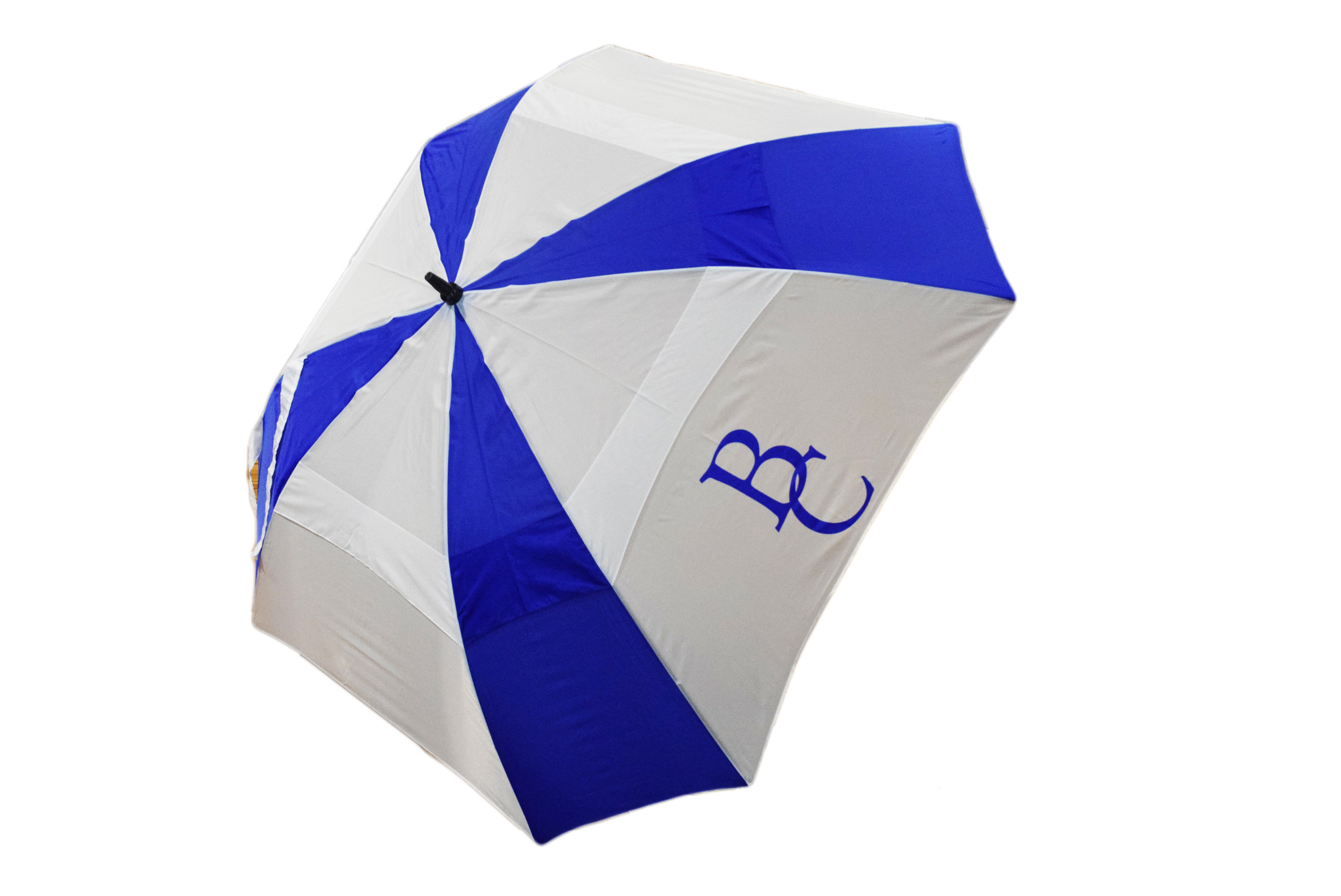 Blue and  White Golf BC Umbrella-1