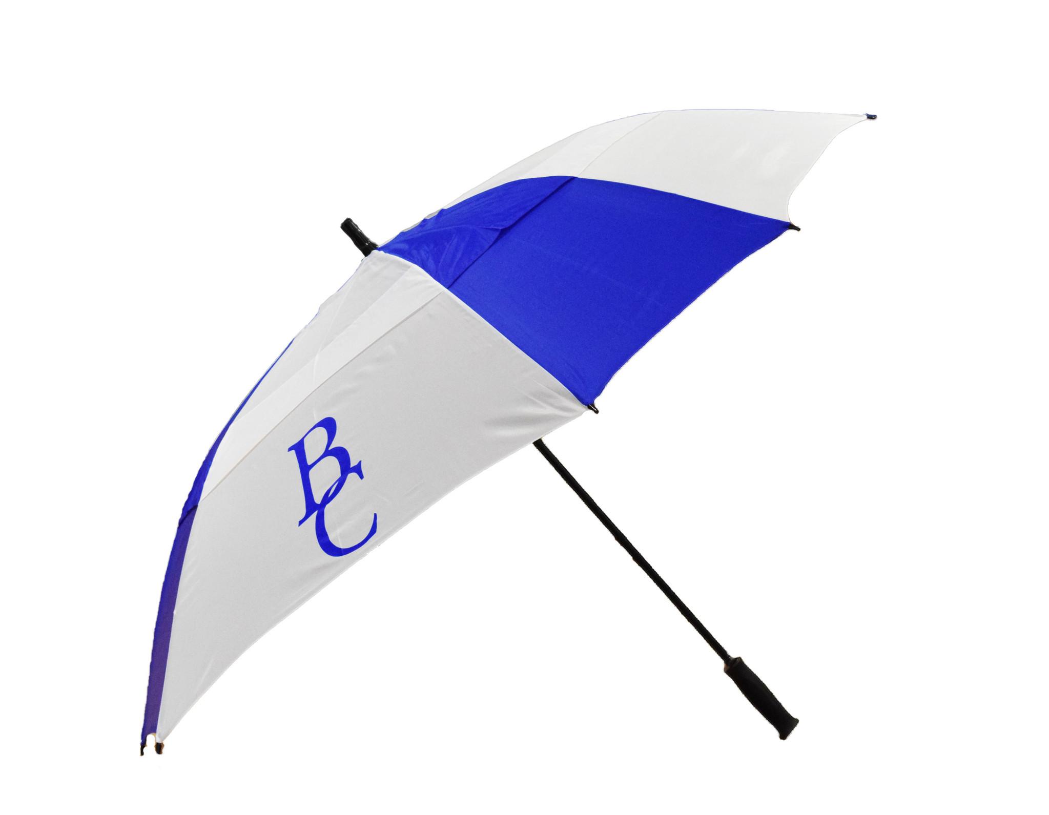 Blue and  White Golf BC Umbrella-2