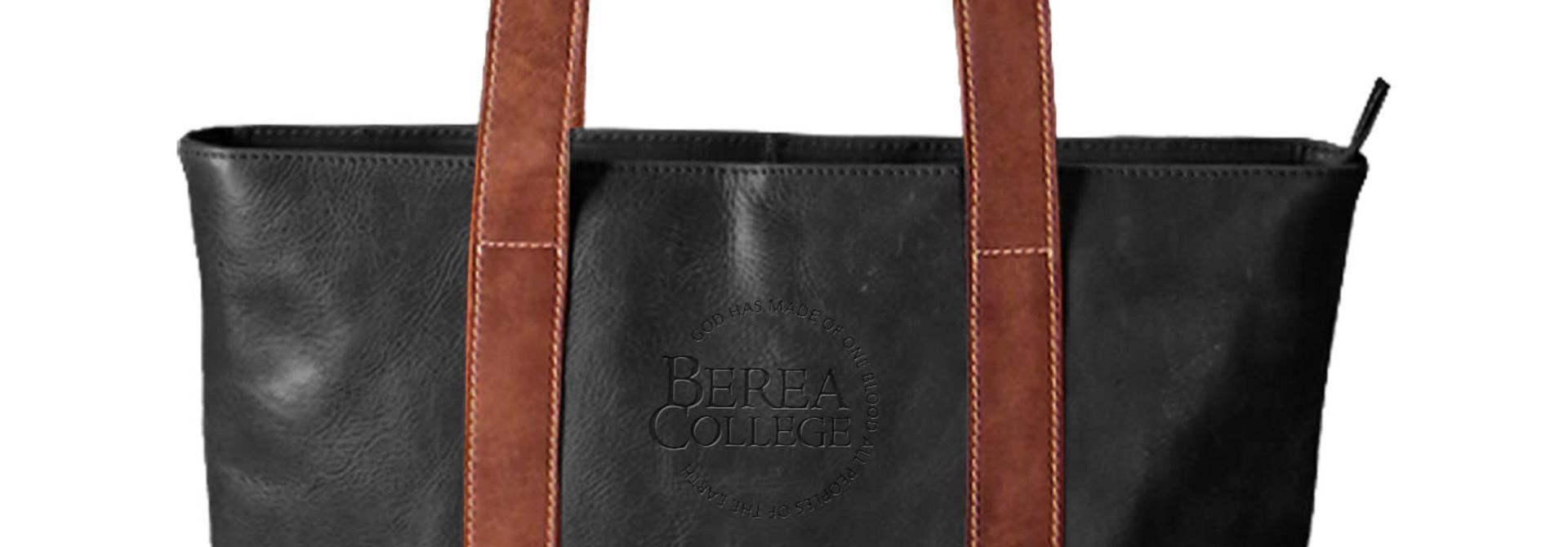 Westbridge Leather Two Tone Tote*