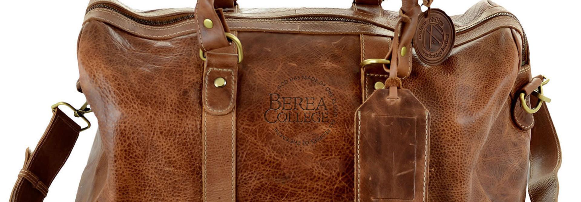 Westbridge Leather Duffel