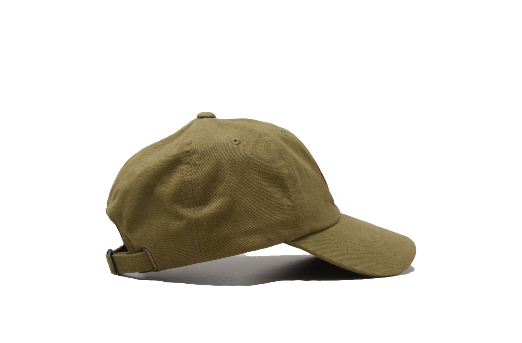 Loden ball cap with Starry Scape Patch-2