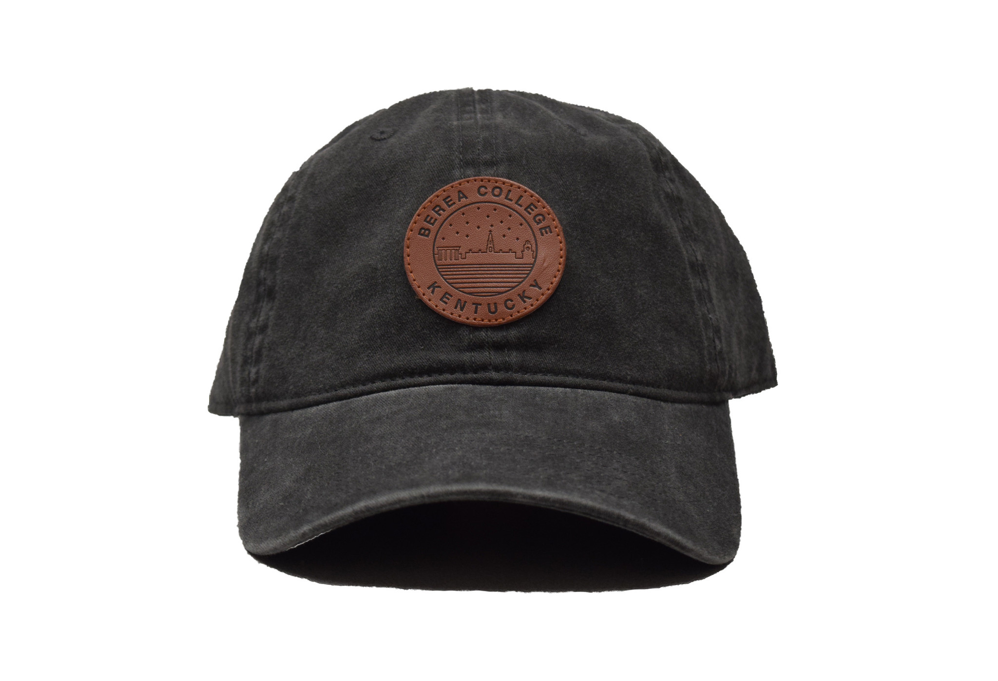 Ball Cap with Starry Scape Patch-2