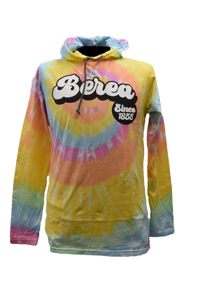 Berea  Since 1855 Aerial Hooded T-shirt