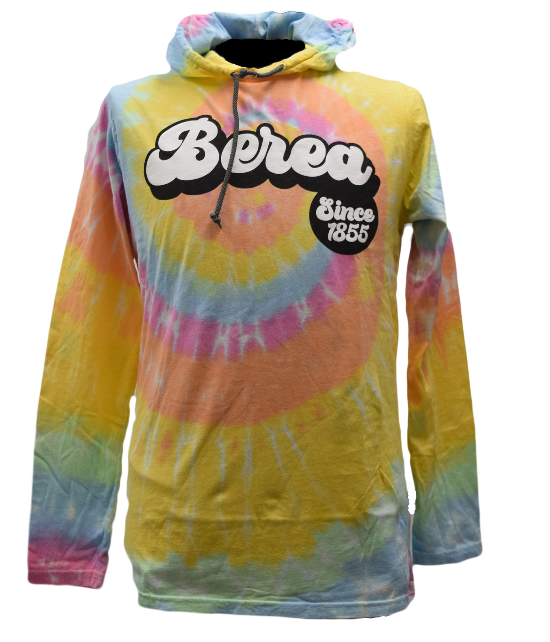 Berea Since 1855 Aerial Hooded T-shirt-1